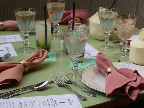 Habana Irvine Brunch Cocktails & Table Setting