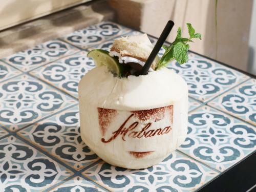 Habana Irvine Fresh Coconut Cocktail 2