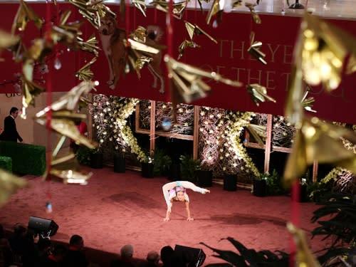 South Coast Plaza Lunar New Year Dancer 2
