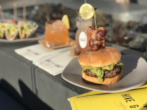 Hive & Honey Signature Burger & Cocktails