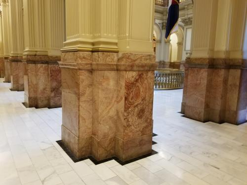 Rose onyx at Colorado State Capitol