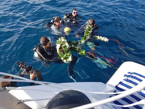 SMS Cormoran Event divers