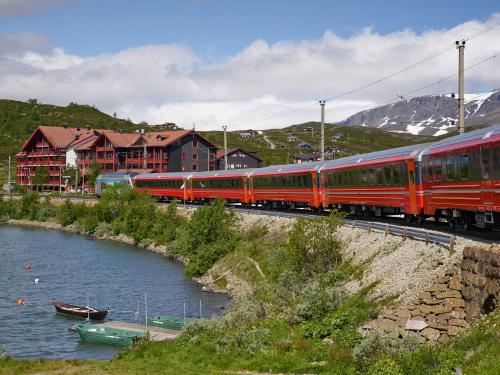 Train in Ustaoset