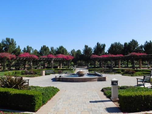 Fountain at Bill Barber Community Park