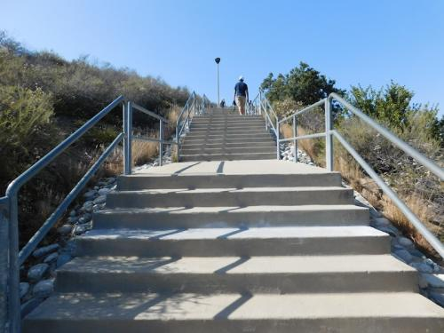Stairs at Chaparral Park in Irvine, CA
