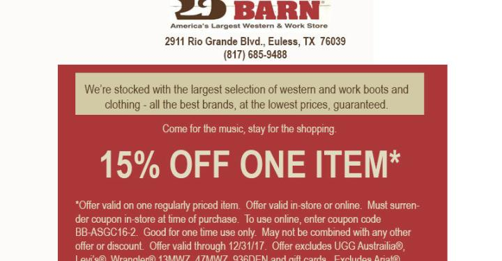 d84a9dbe7 Boot Barn Coupon 12222 ugg australia in store coupons