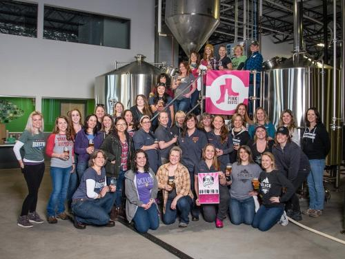 Pink Boots Collab Brew 2018
