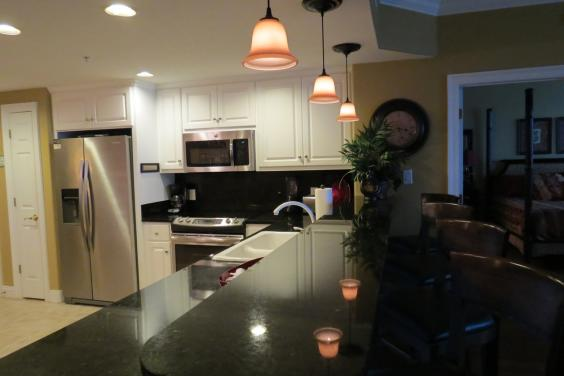 Treasure Island 1210 kitchen with granite and new stainless appliances