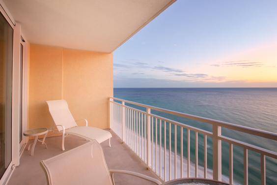 Panama City Beach, FL - Wyndham Vacation Resorts Panama City Beach, Balcony Ocean View