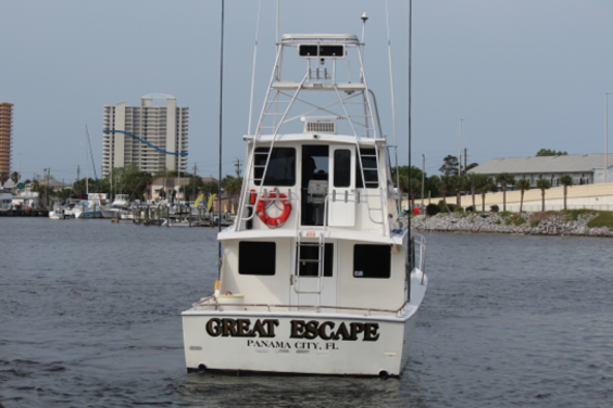 Great Escape pulling out into the Grand Lagoon