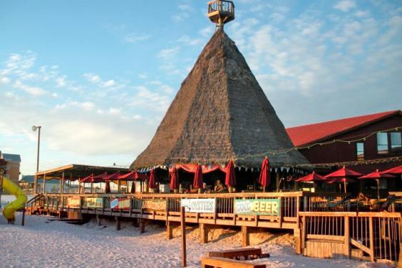 Sharky's Beachfront Restaurant and Tiki Bar