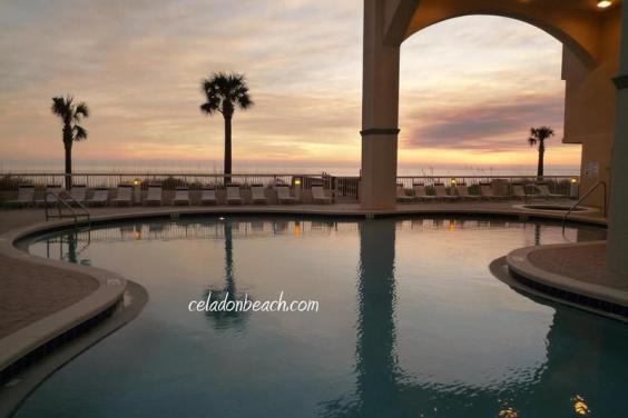 One of Two Pools at Celadon Beach Resort