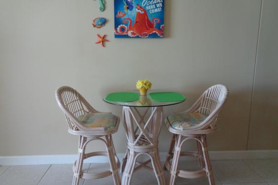 kids love the bistro dining area