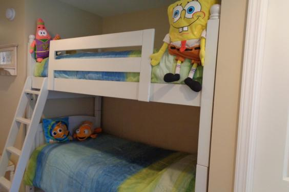 Kids love the bunkies...fun..fun..fun