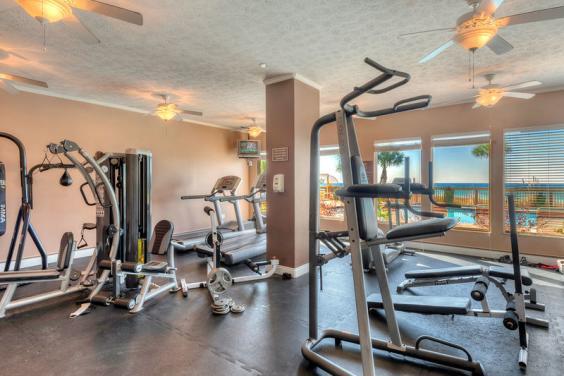 Gulf Crest Gym.