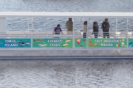 PCB Shell Island Express Ferries