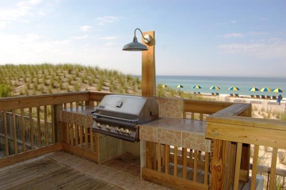 Beach Side Grill Area