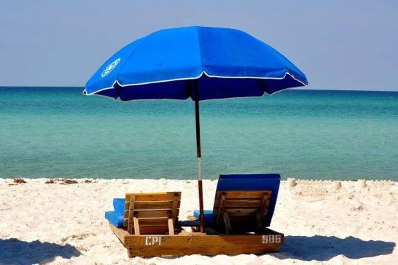Top of the Gulf - Beach chairs included in your rental