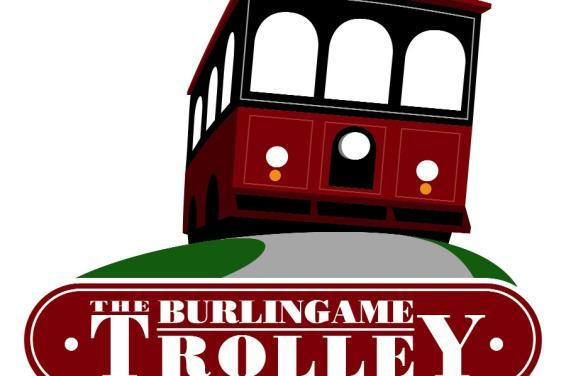 Burlingame Trolley Logo