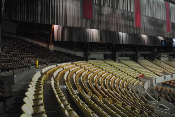 Cow Palace Inside