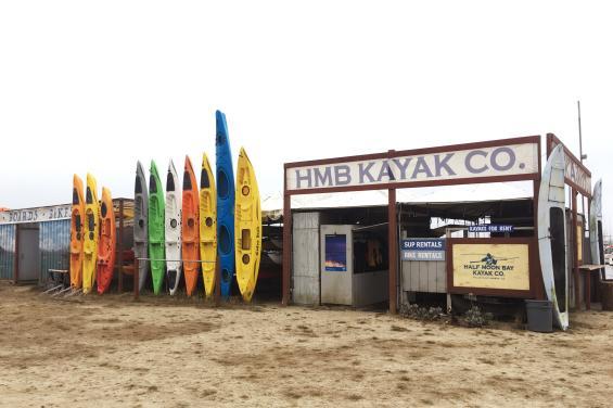 HMB Kayak by Juan Camero