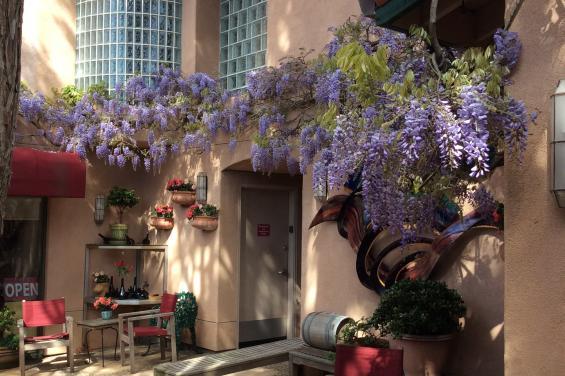 Barterra Winery Courtyard