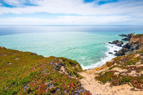 Mussel Rock Beach by Bradley Wittke