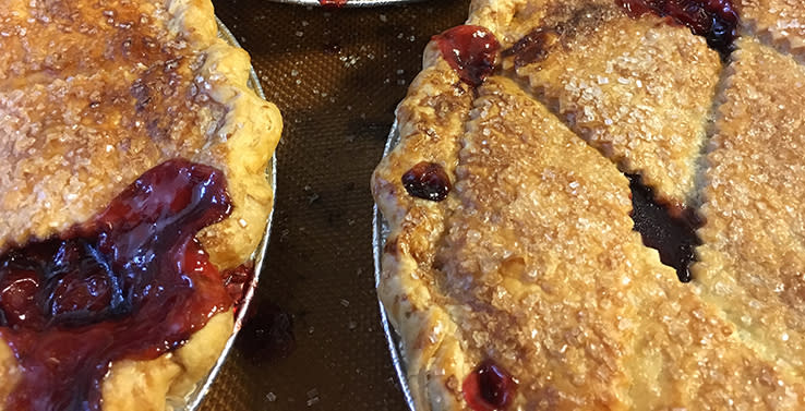 Kansas City Metro Bakery Fresh Cherry Pies