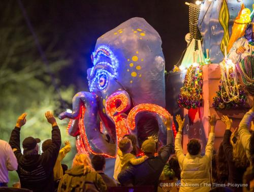 Krewe of Orpheus - Mardi Gras Mandeville