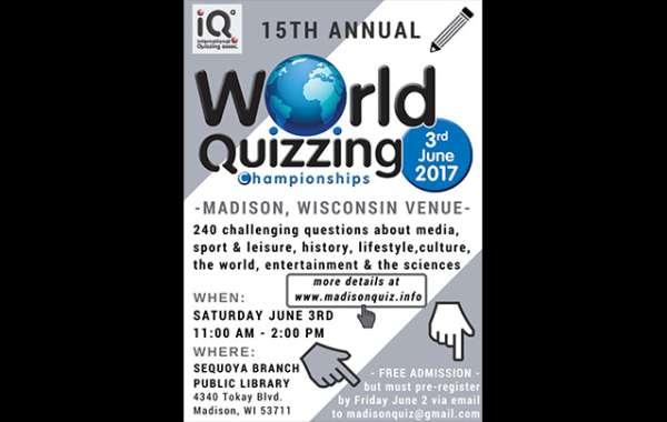 World Quizzing Championiships - Wisconsin Venue