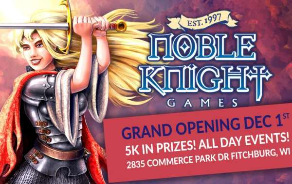 Grand Opening Celebration at Noble Knight Games
