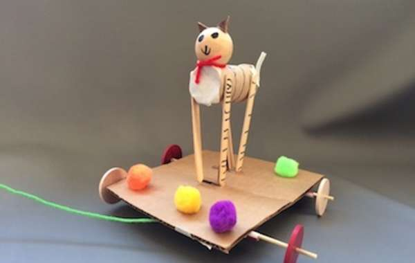 Cure Cabin Fever!: Up-cycled Pull Toys with Bare Knuckle Arts