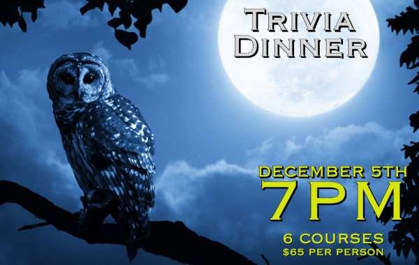 Trivia Dinner at Fuegos