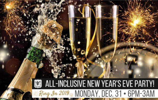 All-Inclusive New Year's Eve Party!