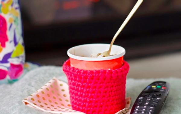 Not Your Grandma's Crochet: Ice Cream Pint Koozie Workshop