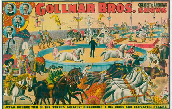 History Sandwiched In: A History of the American Circus Poster