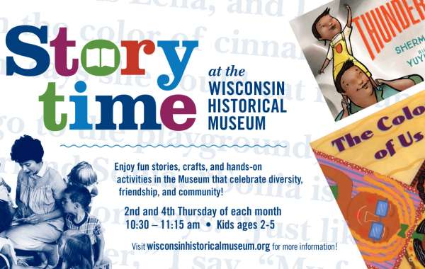 Storytime at the Wisconsin Historical Museum