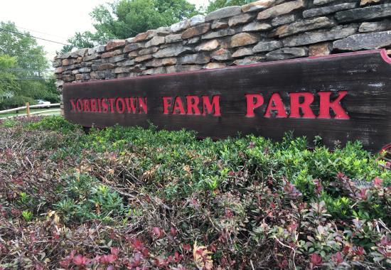 norristown farm park sign