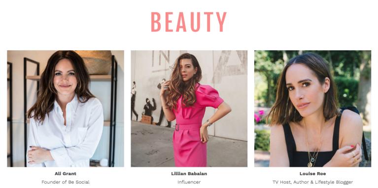 Style Week OC SIMPLY Beauty Panel Speakers