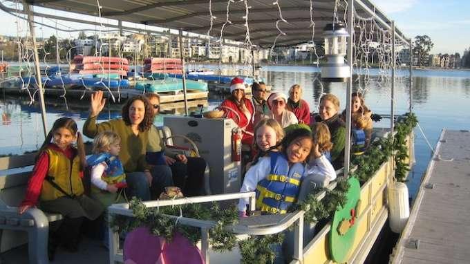 Holiday Caroling on Lake Merritt
