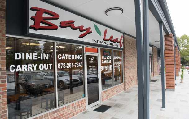 Bay Leaf Indian Restaurant Exterior