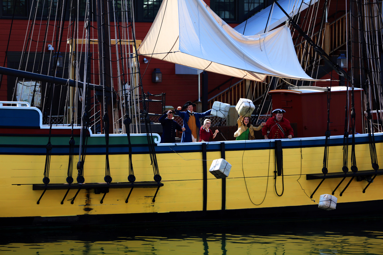destination news tea party ship throwing tea