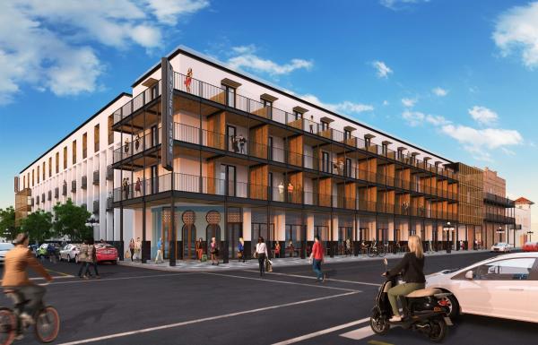 Ybor City hotel rendering