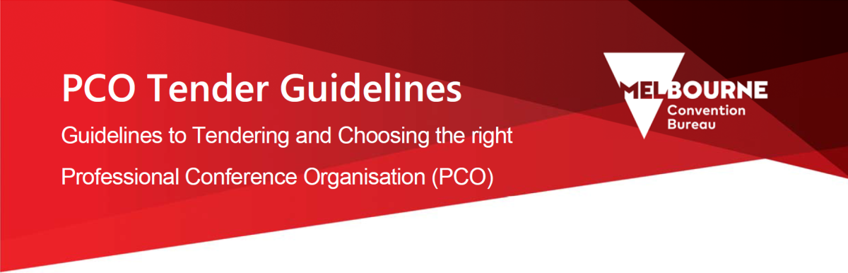 PCO Tender Guidelines