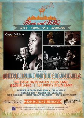 Blues and BBQ brings together great food and great music!
