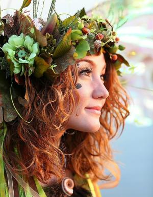 Irish Fairy Costume