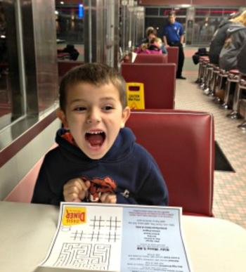 Oasis Diner is the perfect place for a family meal.