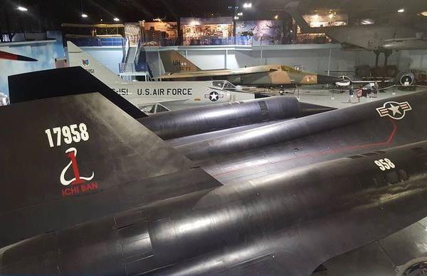 Blackbird at Museum of Aviation