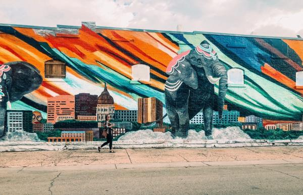 Rebekah Baughman NOTO Arts District Topeka, KS | Mural