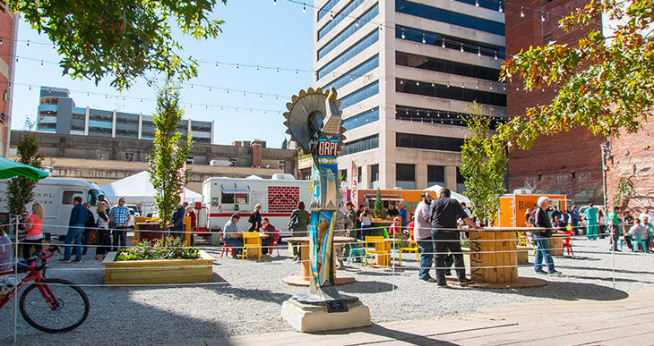 Two Day Itinerary Day One Lunch ICT Pop-Up Urban Park